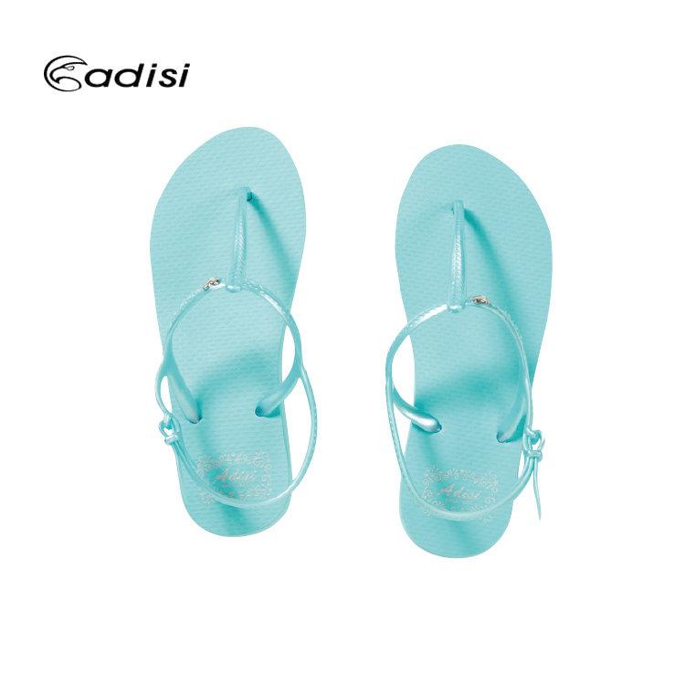ADISI 女款中跟人字涼鞋 AS16011 城市綠洲