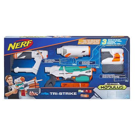 《NERF 樂活打擊》自由模組 - 三重火力迅擊