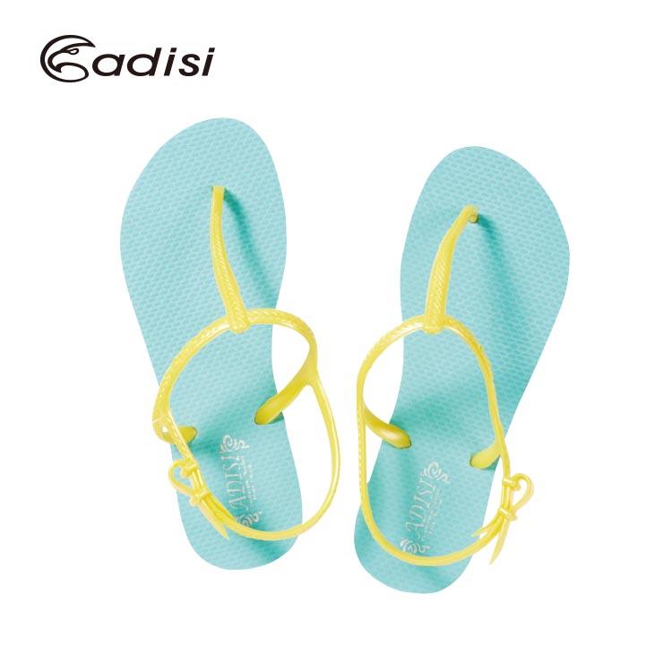 ADISI 女款休閒人字涼鞋AS16012 城市綠洲