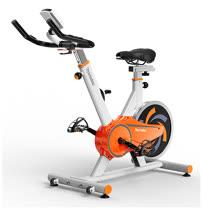 【輝葉】後驅動飛輪健身車(活力白澄)