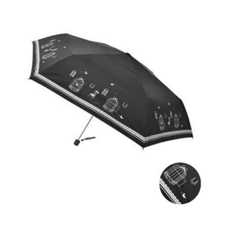 【開箱心得分享】gohappy 購物網【Rainy days】鳥籠童話抗風防潑防曬銀膠輕量手開傘(黑色)好用嗎板橋 大 遠 百貨