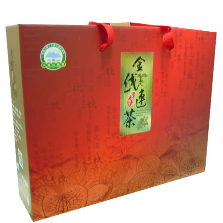 大雪山農場 金線蓮茶禮盒(40包入/盒)送禮自用倆相宜