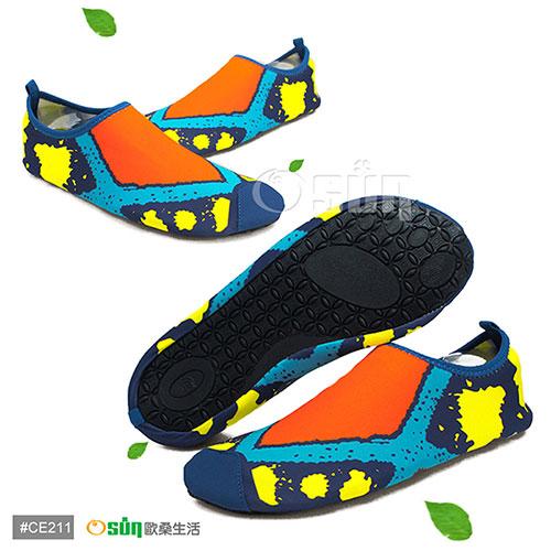 【Osun】男女兒童超輕多遠東 百貨 台北功能休閒運動沙灘鞋(CE211)