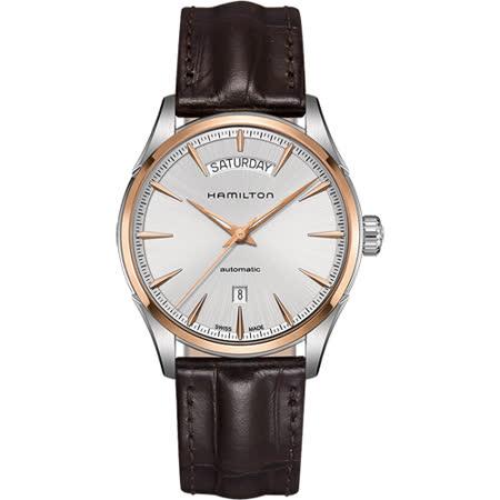 【部落客推薦】gohappy 線上快樂購Hamilton JAZZMASTER 爵士機械腕錶-42mm H42525551開箱愛 買 大 直 店