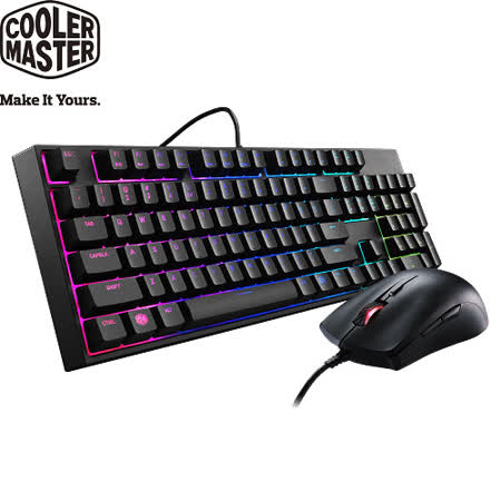 Cooler Master MasterKeys Lite Combo 類機械式RGB鍵盤滑鼠組 [中刻]