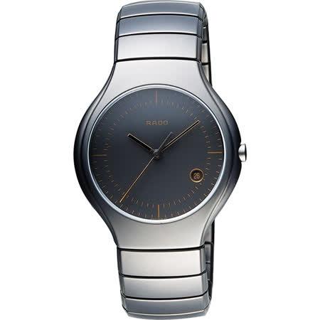RADO 雷達 True系列經典陶瓷腕錶-黑/38mm R27899402