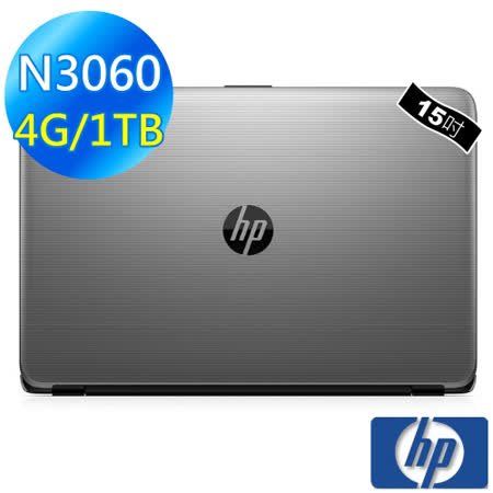【HP】Notebook 15-ay033TU (N3060/4G/1TB/W10) 筆電