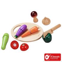 Classic world 德國經典木玩客來喜 蔬菜切切
