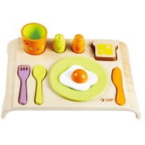 Classic world 德國經典木玩客來喜 美式早餐組