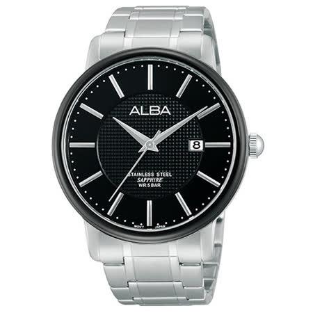 ALBA 雅柏 爵士時尚大三針時尚腕表/44mm/VJ42-X114D