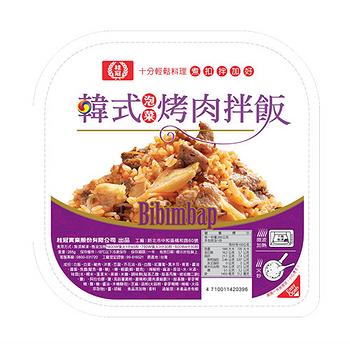 桂冠韓式泡菜烤肉拌飯285G/盒