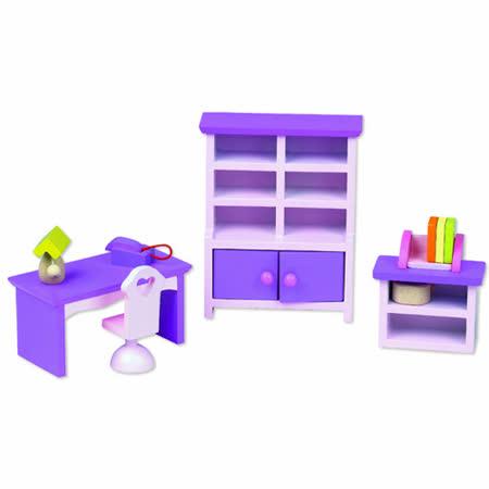 Classic world 德國經典木玩客來喜 紫色迷你家具
