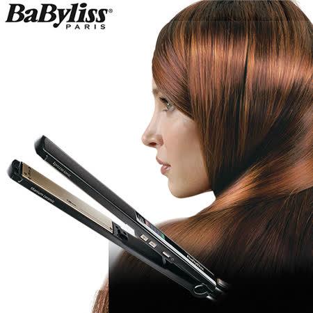 【Babyliss】鈦金陶瓷24mm專業直髮夾 ST87W