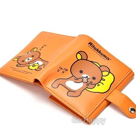 San-X拉拉熊【休息時光】輕巧皮夾