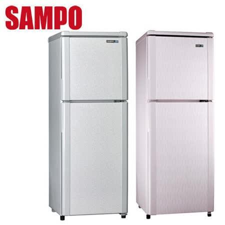 SAMPO 聲寶 140L雙門冰箱 SR-L14Q (S1)(R5)