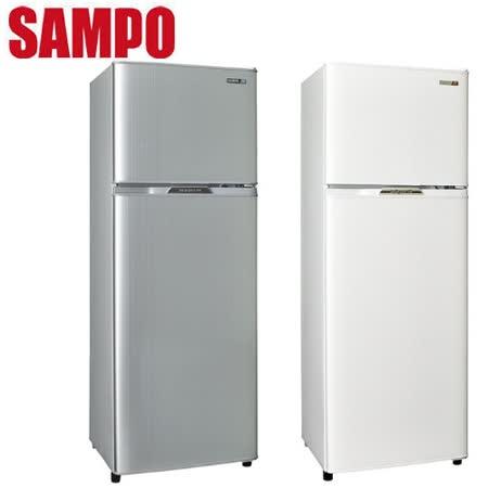 SAMPO 聲寶 250公升省電節能1級雙門冰箱 SR-L25G