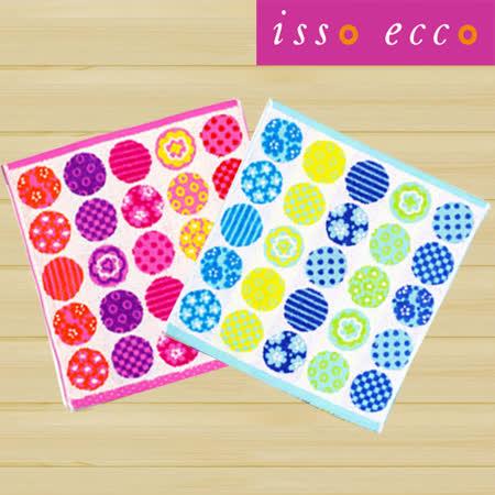 【クロワッサン科羅沙】日本ISSO ECCO今治(imabari towel)~無撚花彩球毛巾 34*80cm