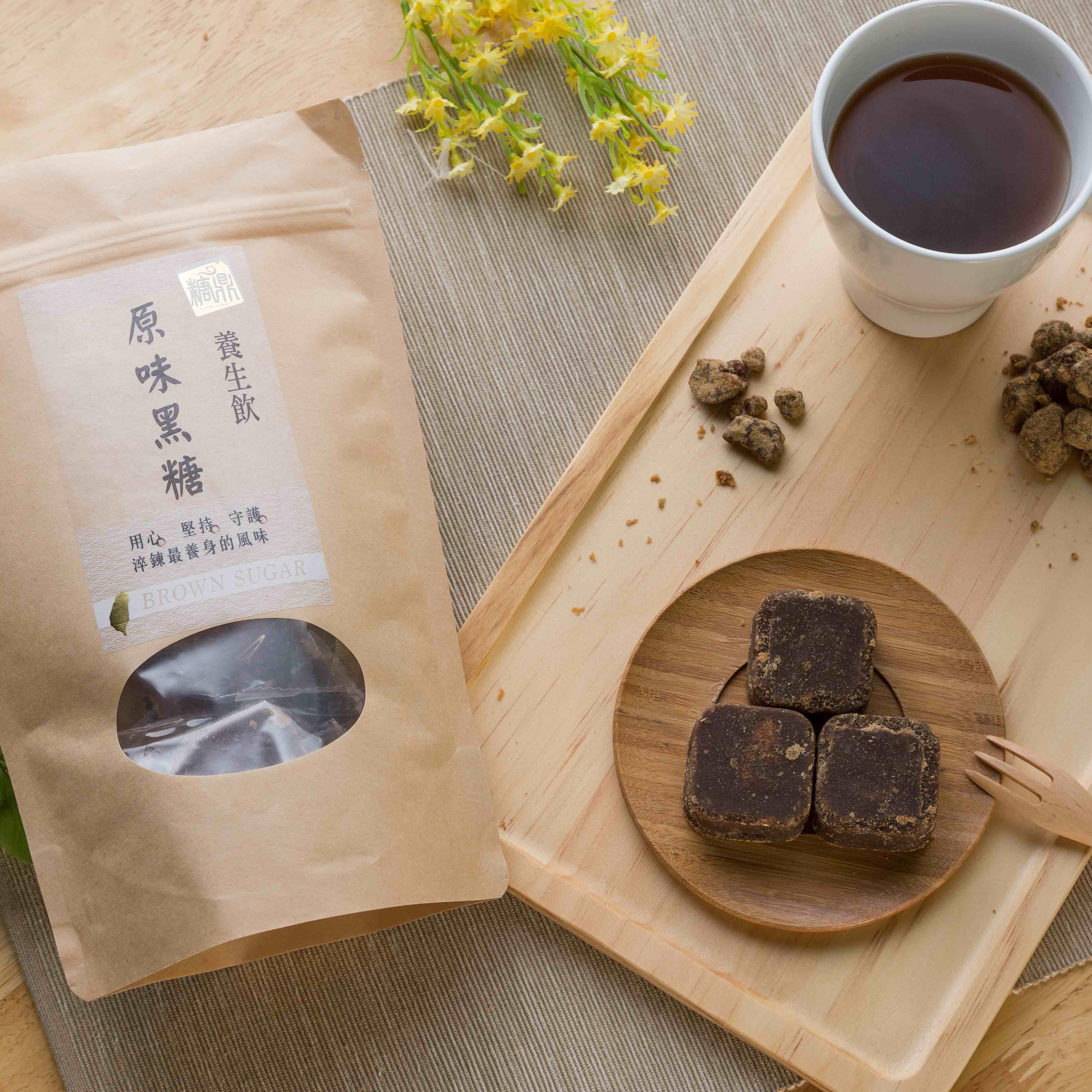糖鼎養身黑糖茶磚-多口味任選三包激安下殺組