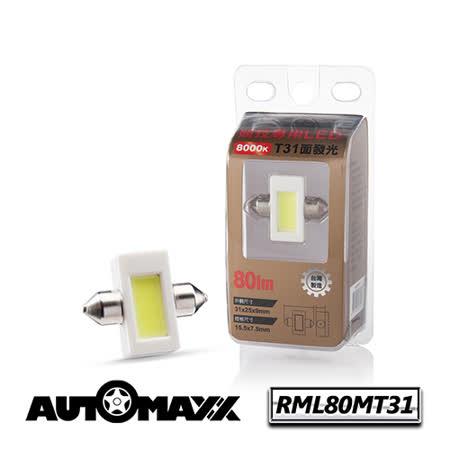 AutoMaxx ★ RML80MT31 『亮白光』面發光LED燈[ 12V‧8000k ] [ 示寬燈/停車燈/倒車燈/車內燈/牌照燈可用 ]