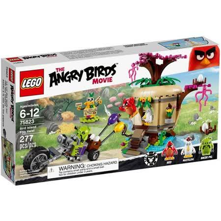 LEGO《 LT75823》Angry Birds 憤怒鳥系列 - Bird Island Egg Heist