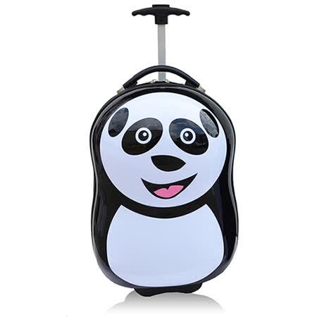 【Baboobag】PC兒童造型16吋超值拉桿箱行李箱-熊貓
