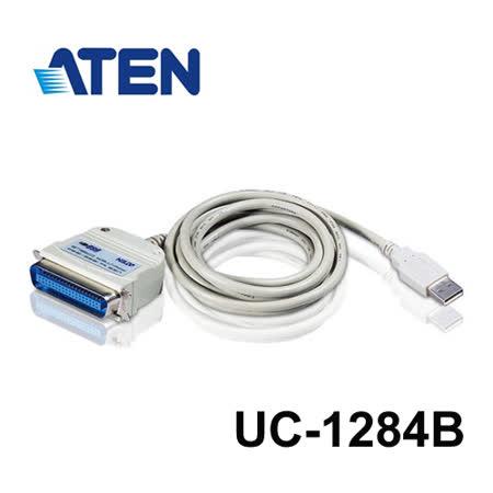 ATEN UC1284B USB轉印表機並列埠連接線 (180公分)