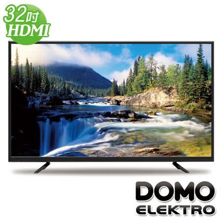 DOMO 32型HDMI多媒體數位液晶顯示器+數位視訊盒(DOM-32A08)