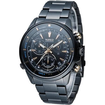 WIRED 日系探索極限狂飆計時腕錶 VK68-KB30SD AY8001X1