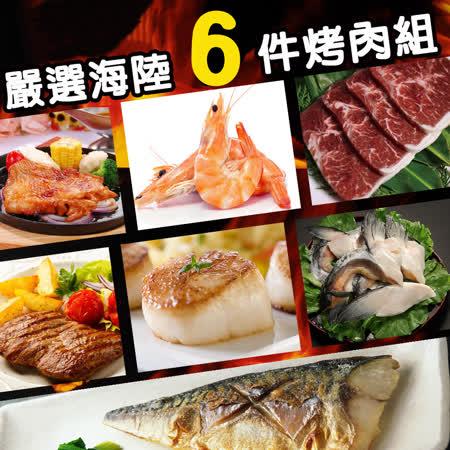 【優食配】野餐同樂烤肉精選組(3~4人組合)
