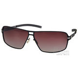 MIZUNO太陽眼鏡  β 鈦系列休閒偏光款 (槍銀) #MF233 C05