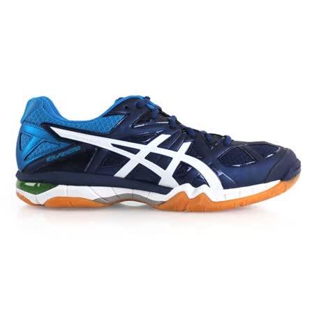 (男) ASICS GEL-TACTIC 排球鞋- 羽球鞋 亞瑟士 丈青藍