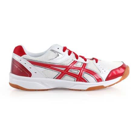 (男女) ASICS RIVRE CS 排球鞋- 羽球鞋 亞瑟士 白紅