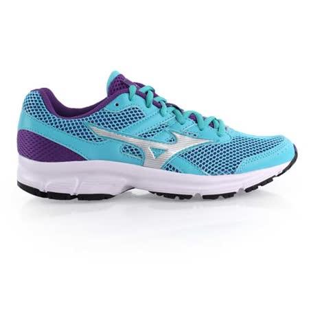 (女) MIZUNO SPARK慢跑鞋- 健走 運動 休閒 美津濃 湖水藍紫