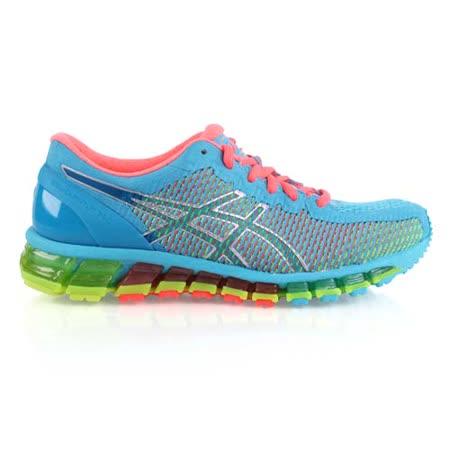 (女) ASICS GEL-QUANTUM 360CM慢跑鞋- 路跑 亞瑟士 湖水藍綠