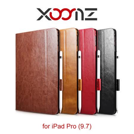 XOOMZ 騎士系列 iPad Pro (9.7) 騎士系列 側掀磁吸 簡約可站立皮套
