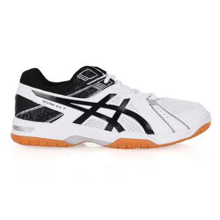 (男) ASICS RIVRE EX 7 排球鞋 - 羽球鞋 亞瑟士 白黑