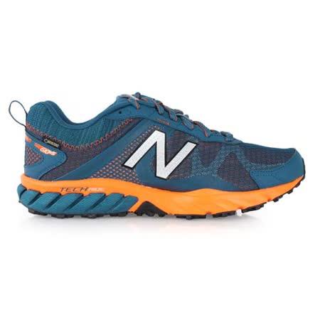 (男) NEWBALANCE 610 V5 越野慢跑鞋 - NB N字鞋 路跑 墨綠橘