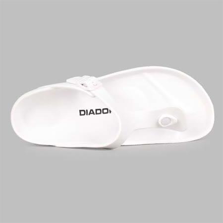(男) DIADORA 拖鞋-休閒 戲水 涼鞋 人字托 白黑