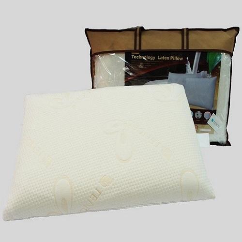 SHINEE 全程 ~天絲表布乳膠獨立筒枕~~一入^(枕頭^)