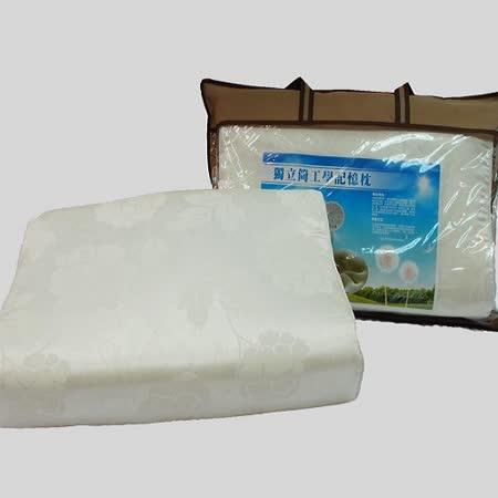 SHINEE 台灣製 超舒適《新世代人體工學獨立筒記憶枕》-1入(枕頭)
