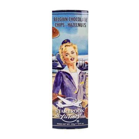 Starbrook 銀河洋芋片造型榛果牛奶巧克力 125g
