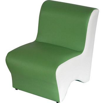 DOLEE 彩色小沙發椅 綠