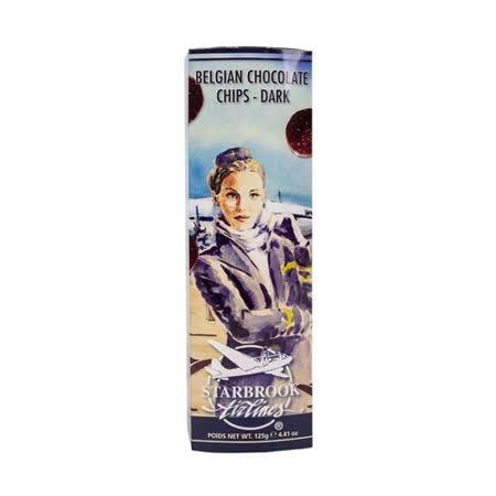 Starbrook 銀河洋芋片造型黑巧克力 125g
