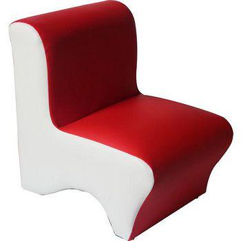DOLEE 彩色小沙發椅 紅