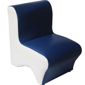DOLEE 彩色小沙發椅 藍