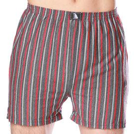 LIGHT  DARK 舒適棉柔條紋平口褲(顏色 出貨) LD~2990  一件組