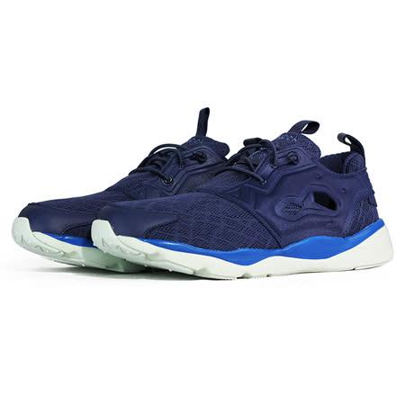 REEBOK 男 FURYLITE TM 經典復古鞋 藍 - V67731