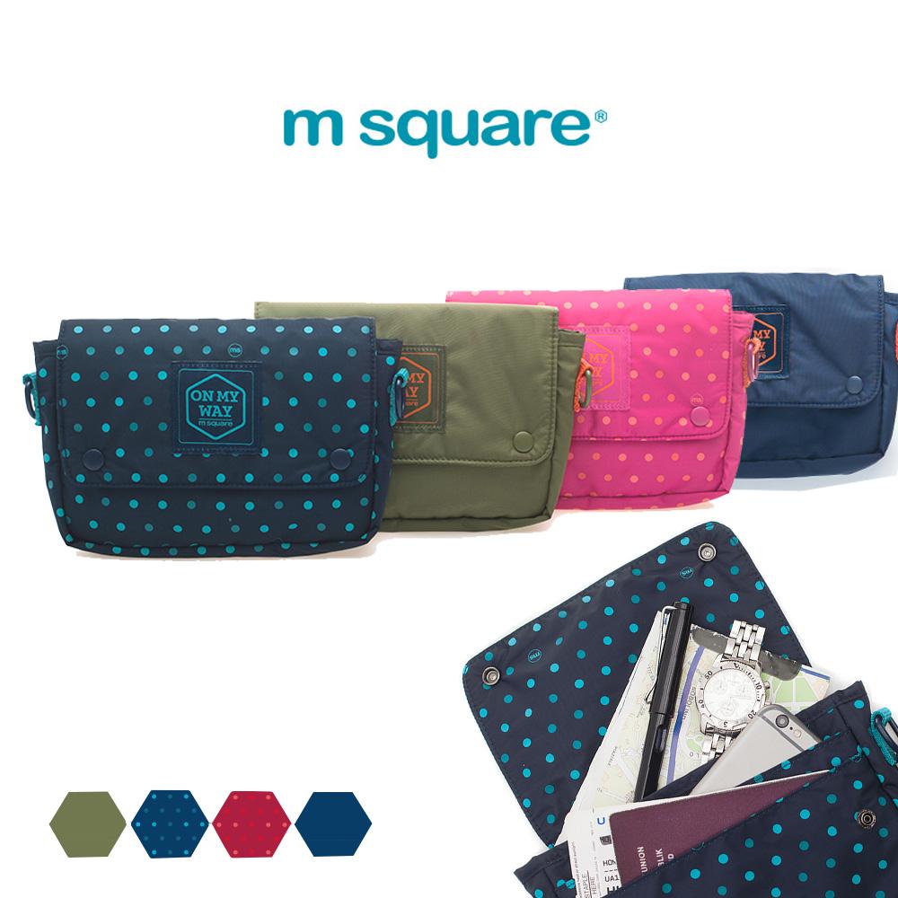 M Square單肩隨身小包腰包兩用包