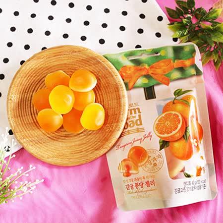 【Lotte】田園軟糖-柑橘