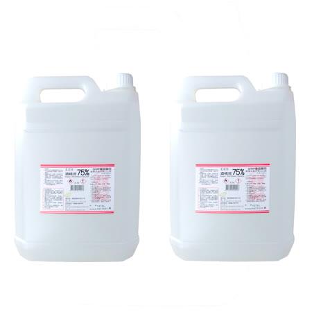 【克司博】酒精液75% 4公升(2桶) (乙類成藥)